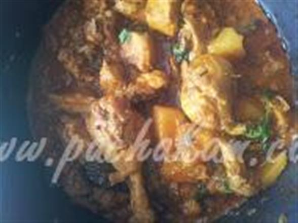Chicken And Potato | Pachakam