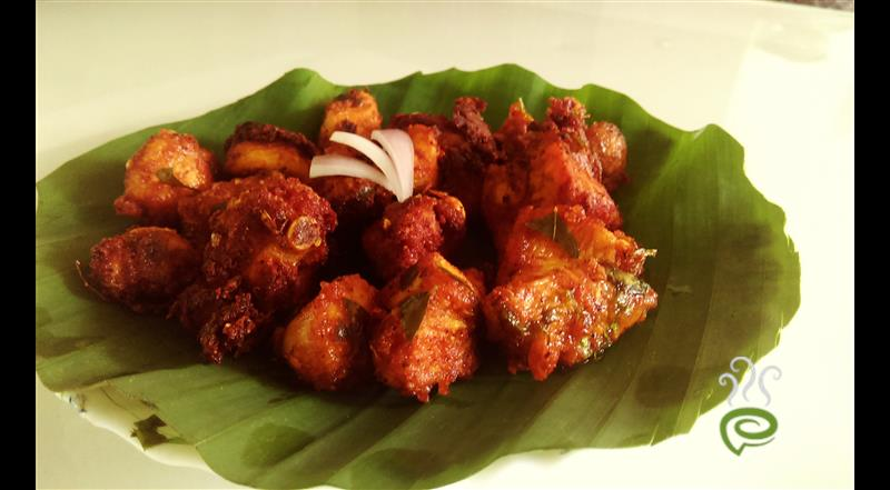 Chicken 65 Dry Recipe | Pachakam