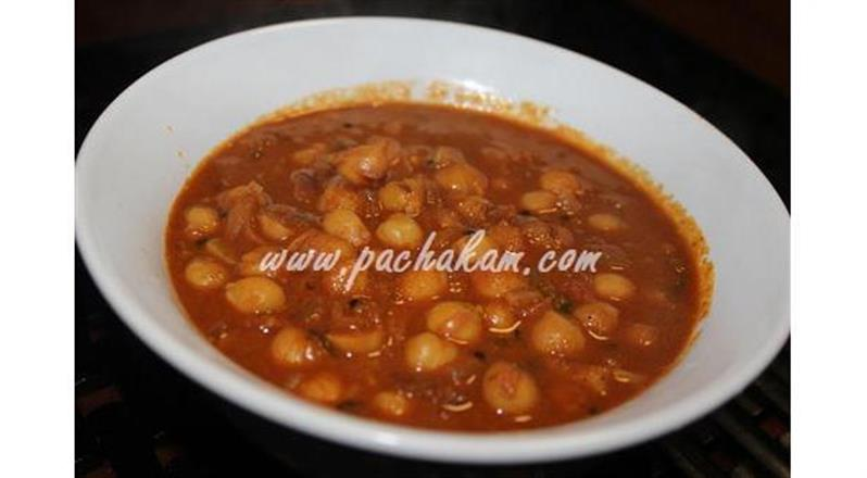 Chickpea-Kabuli Chana Choley In Punjabi Style