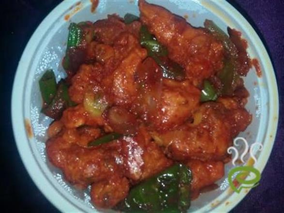 Chilly Chicken In Traditional Style