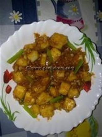 Chilly Paneer Recipe | Pachakam