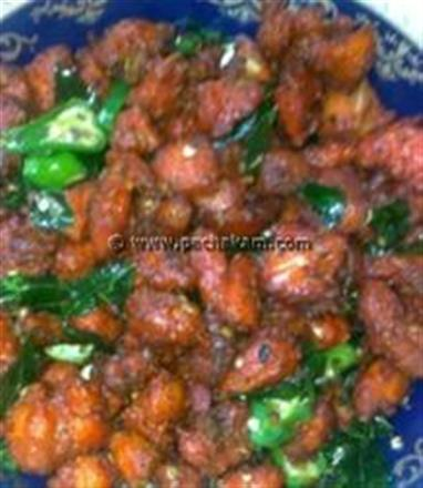 Chinese Chilli Chicken - Hot And Crispy