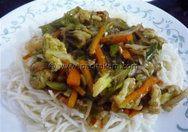 Chinese Vegetable Chopsuey | Pachakam