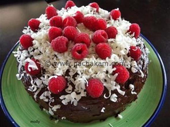 Christmas Special Cake Images : Chocolate Cake - Christmas Special recipe pachakam