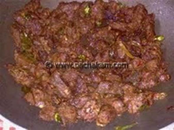 Coconut Beef Dry