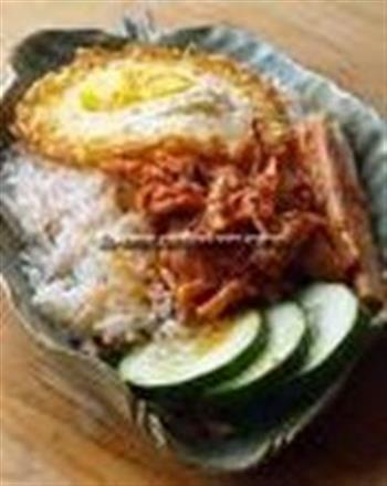 Coconut Milk Rice - Nasilemak