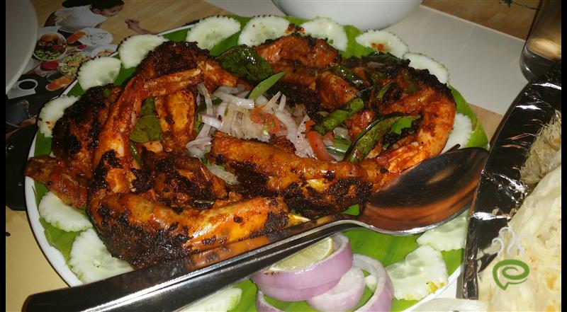 Coconut Grilled Prawns Kerala Style | Pachakam