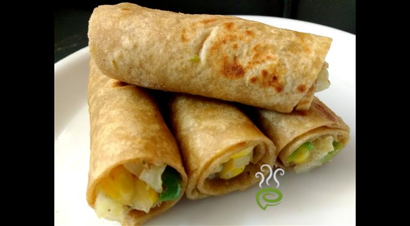 Corn Cheese Wrap
