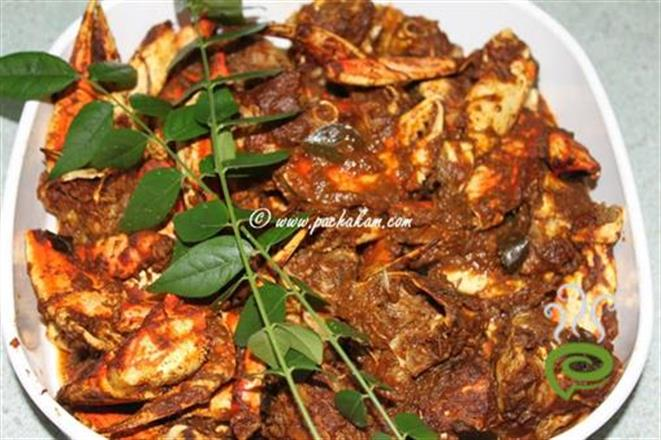 how to cook crab meat indian style
