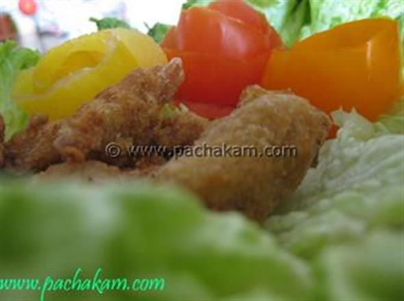 Crunchy Fried Curry Chicken