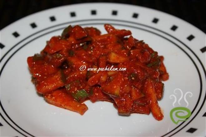 Dried Mango Pickle