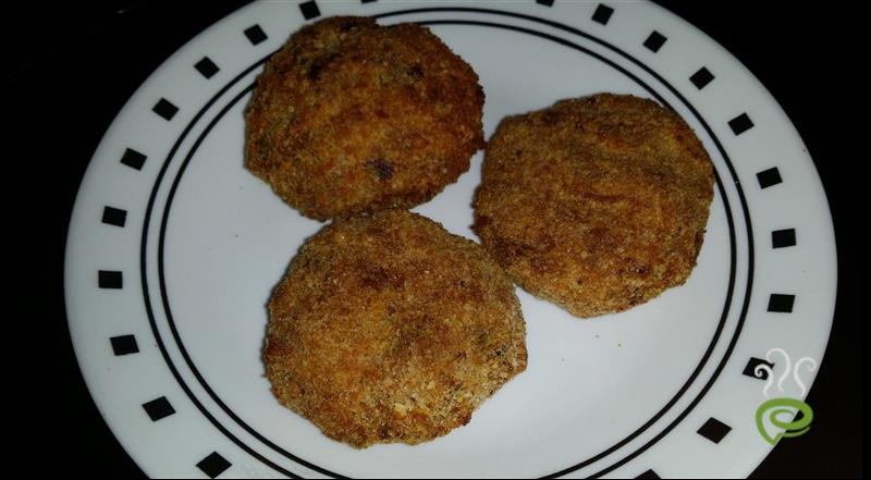Easy Mixed Veggie Cutlet
