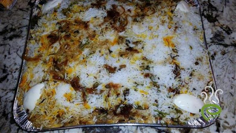 Egg Biriyani - North Indian Style