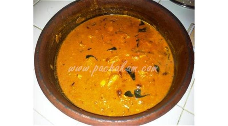 Fish Curry In Malabar Style
