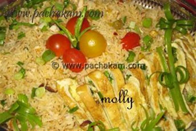 Fried Rice With Cherry Tomatoes