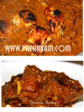 Grilled-BBQ  Chicken Curry | Pachakam