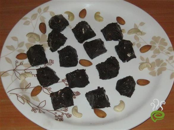 Home Made Dark Nuts Choccolate