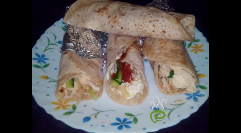Home Made Chicken Shawarma Recipe