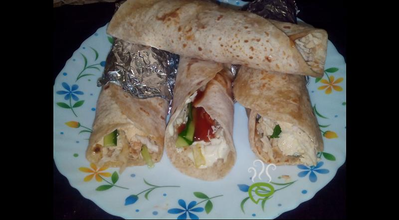 Home Made Chicken Shawarma