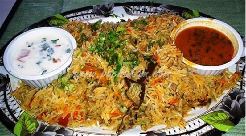 Hyderabadi Chicken Biryani(Kozhi Biryani)