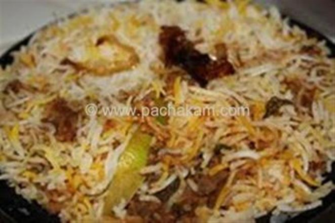 Hyderabadi Mutton Biriyani