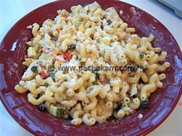 Italian macroni salad recipe pachakam for Abduls indian bengali cuisine
