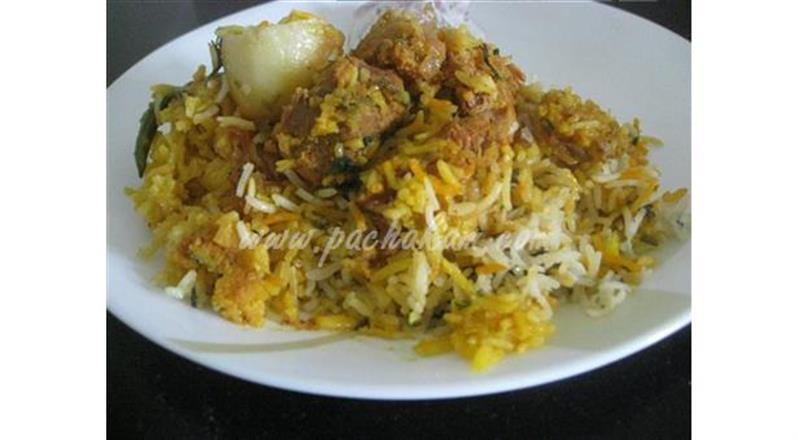 Kachha Gosht Biryani (Step By Step Photos)