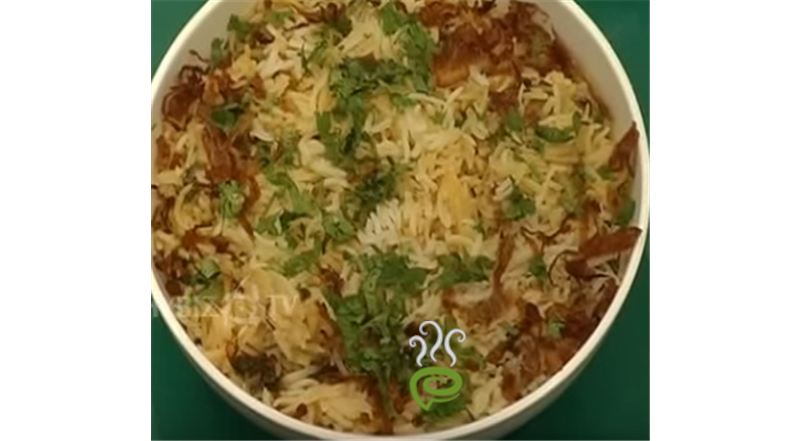 Kachi Ghosh Ki Briyani Video Recipe