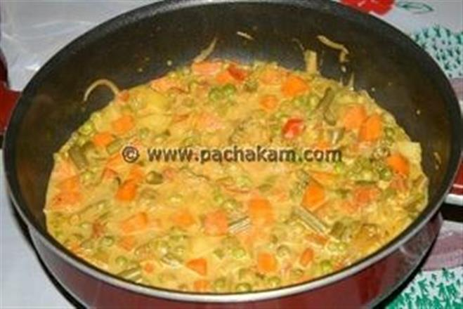Kerala mixed vegetable curry recipe pachakam kerala mixed vegetable curry tasty combination of vegetables forumfinder Choice Image