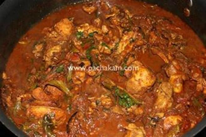 Kerala Simple & Tempting Chicken Curry