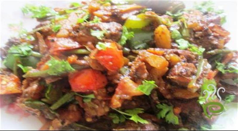 Lucknow Chicken With Vegetable