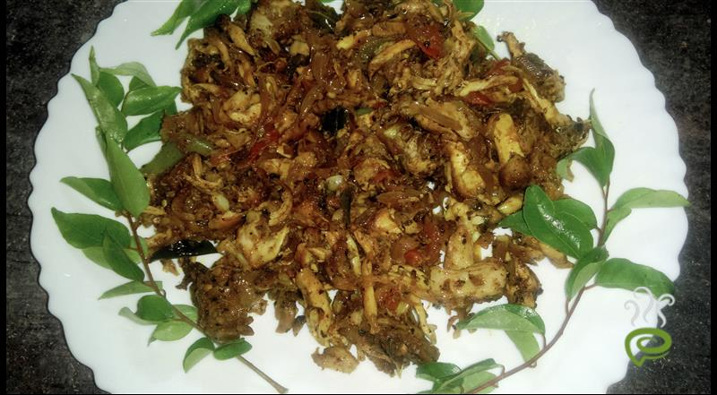 Malabar Style Spicy Mince Chicken Stir Fry