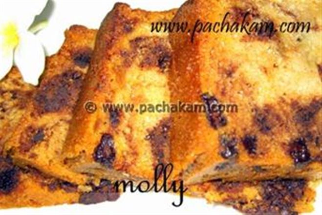 Marble Cake With Apple Sauce | Pachakam