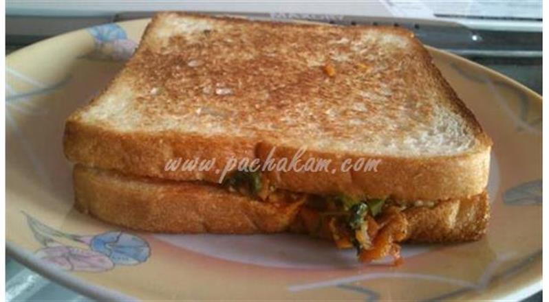 Masala Sandwich (Step By Step Photos)