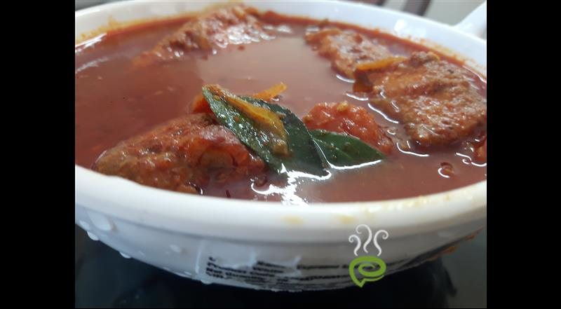Meen Mulakittath (Spicy Red Fish Curry)