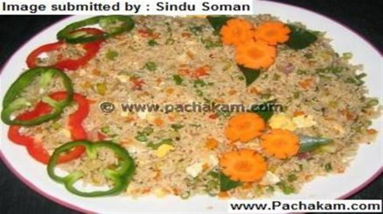 Mixed Fried Rice Easy | Pachakam