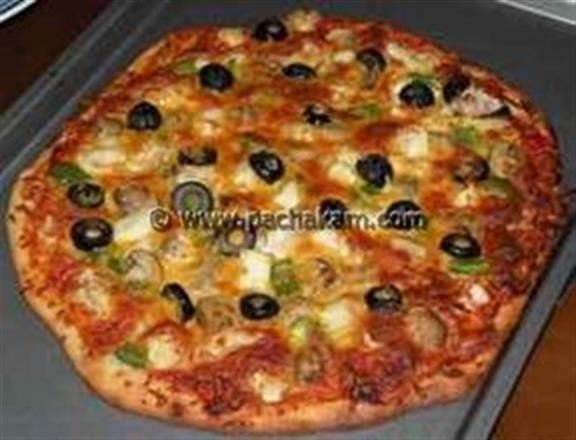 Mixed Vegetable Pizza | Pachakam