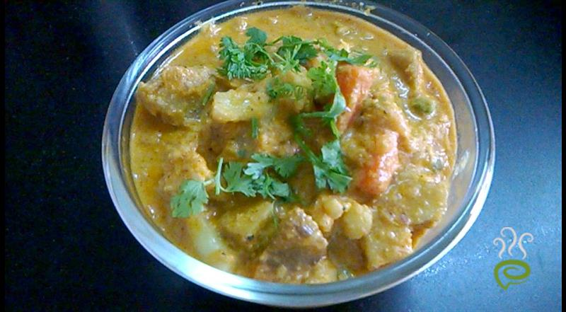 Mixed Vegetable Kurma South Indian Style