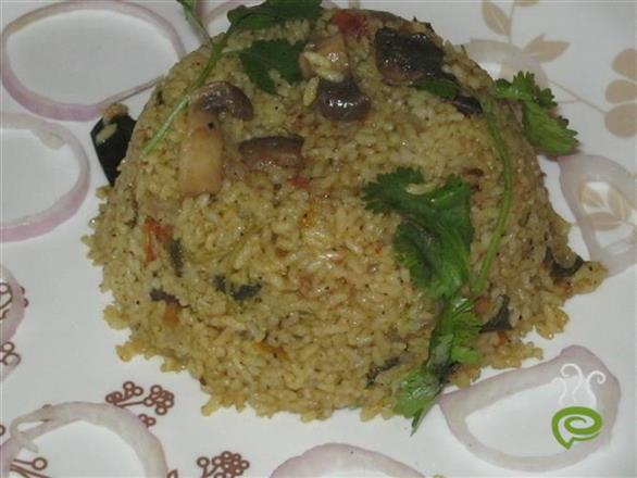 Mushroom Briyani In Marriage Menu Style | Pachakam