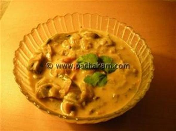 Mutter Mushroom Curry
