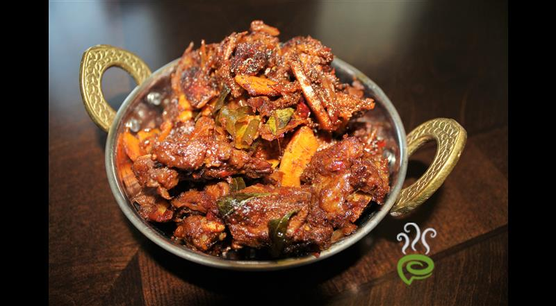 Mutton Chilly Fry With Video | Pachakam