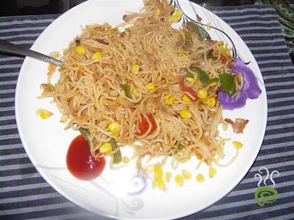 Noodles With Corn