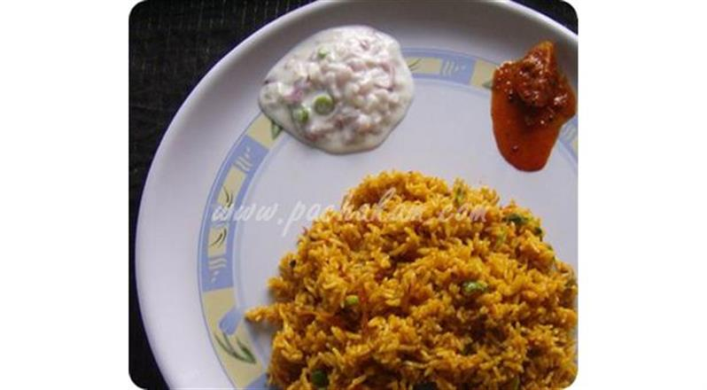 North Indian Simple Tomato Rice