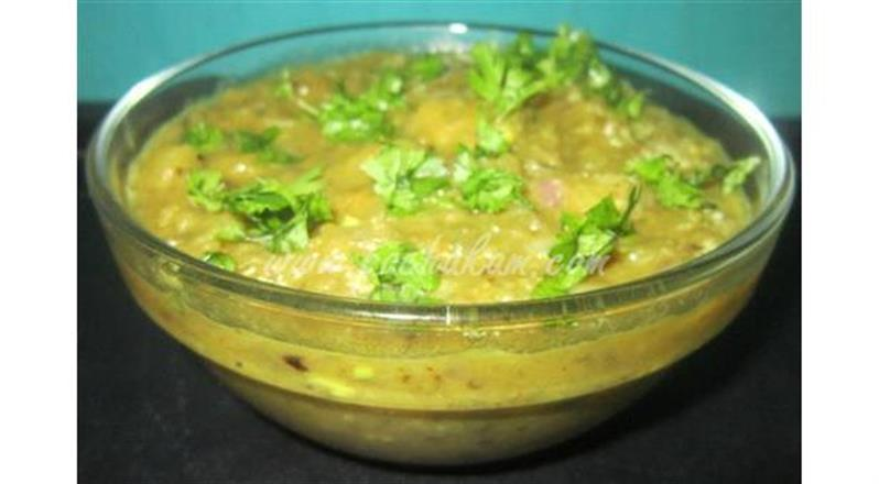 North Indian Style Brinjal Bharta