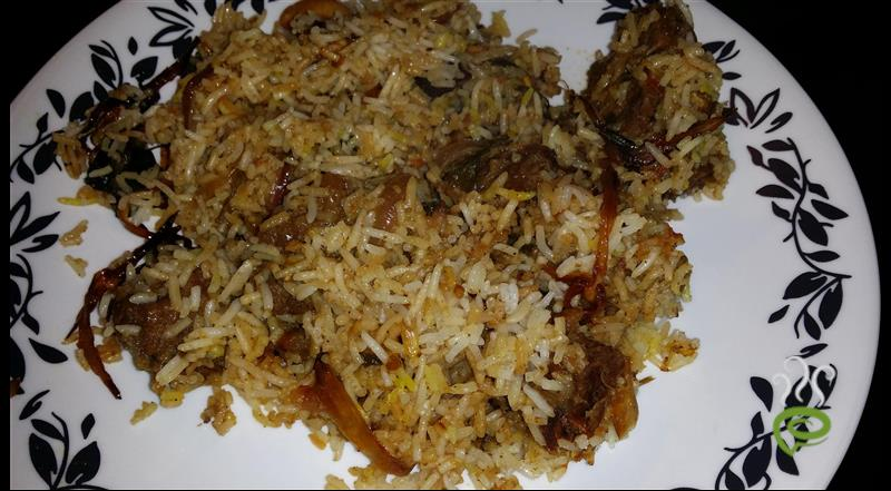 North Indian Tasty Mutton Biriyani