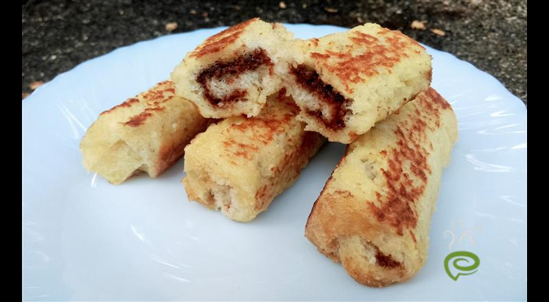 Nutella French Toast Rolls | Pachakam