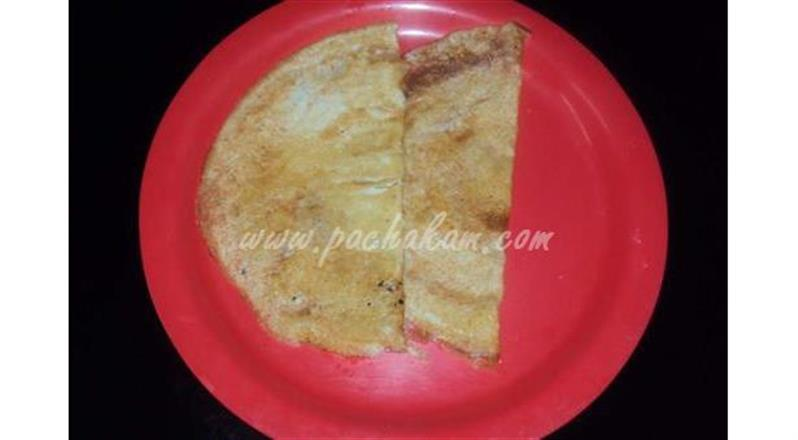 Oats And Egg Dosa