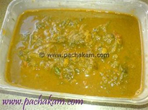 Paalak-Parippu Curry