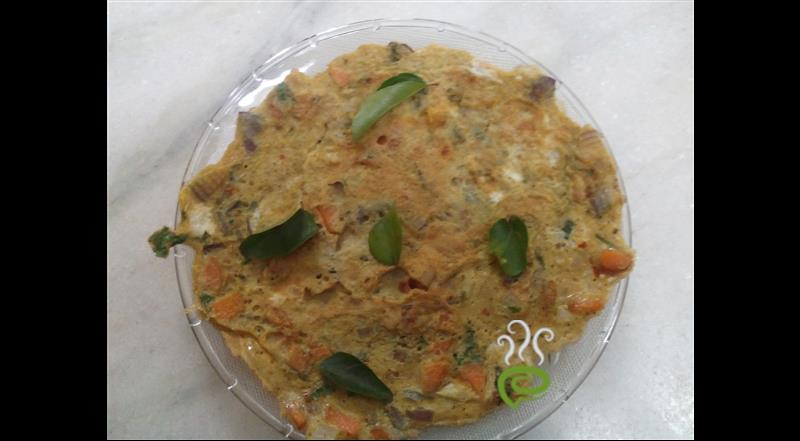 Chettinadu Egg Omlette