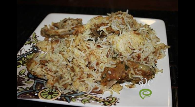 Easy Chicken Biriyani(Kozhi Biryani)